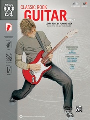 Alfred's Rock Ed.: Classic Rock Guitar, Vol. 1