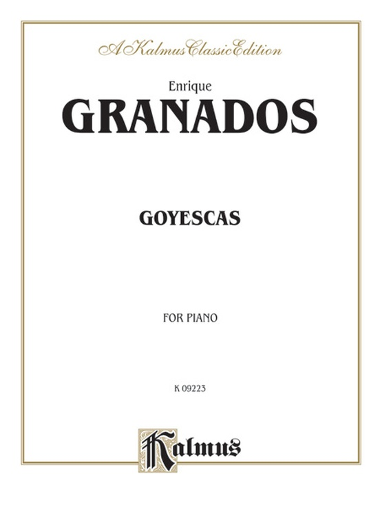 Goyescas (Complete)
