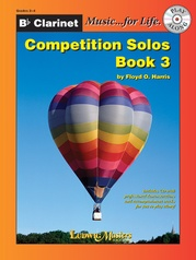 Competition Solos, Book 3 Clarinet