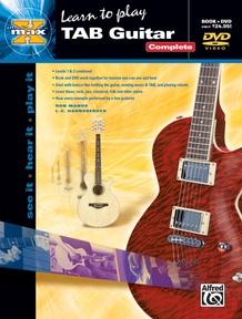 Alfred's MAX™ TAB Guitar, Complete
