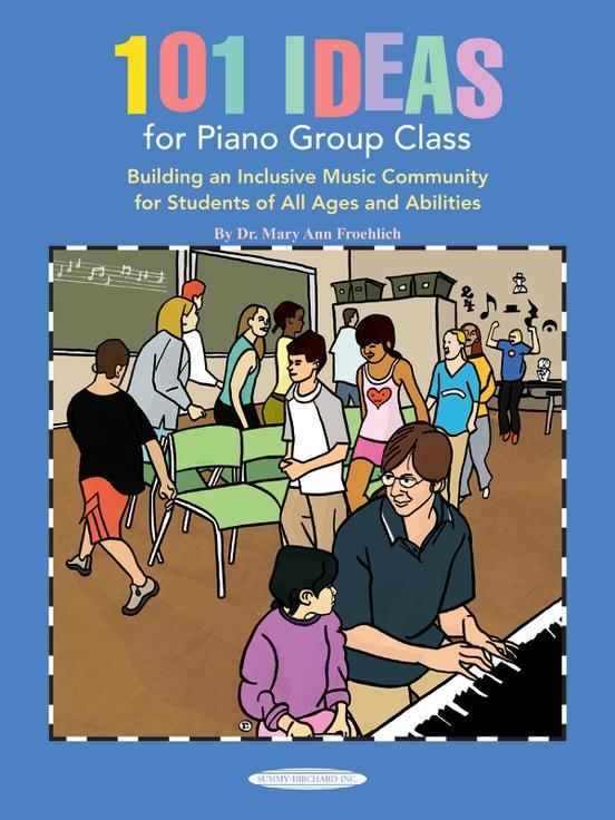 101 ideas for piano group class piano book 101 ideas for piano group class fandeluxe Gallery