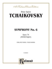"Symphony No. 6 in B Minor, Opus 74 (""Pathetique"")"