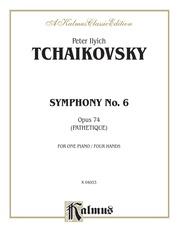 "Symphony No. 6 in B Minor, Opus 74 (""Pathetique"")"