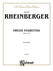 Twelve Fughettas, Opus 123B