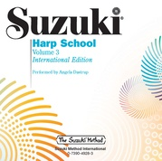 Suzuki Harp School CD, Volume 3