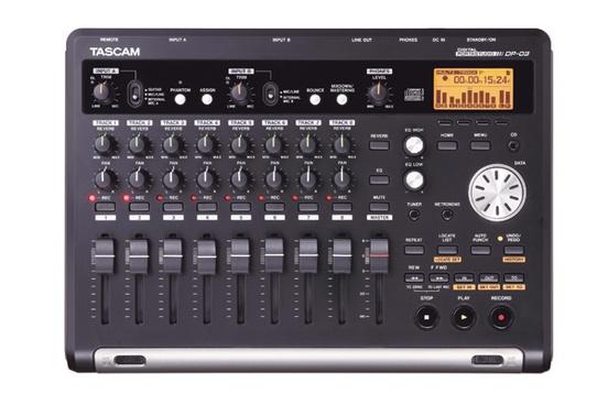 Tascam DP-03 Digital Portastudio 8 Track Recorder