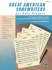 Great American Songwriters for Solo Singers