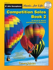 Competition Solos, Book 2 Alto Sax