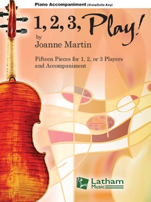 1, 2, 3, Play! - Viola/Cello Key Piano Accompaniment