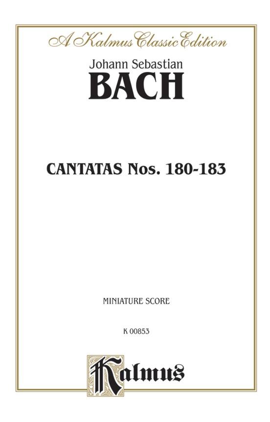 Cantatas No. 180-183