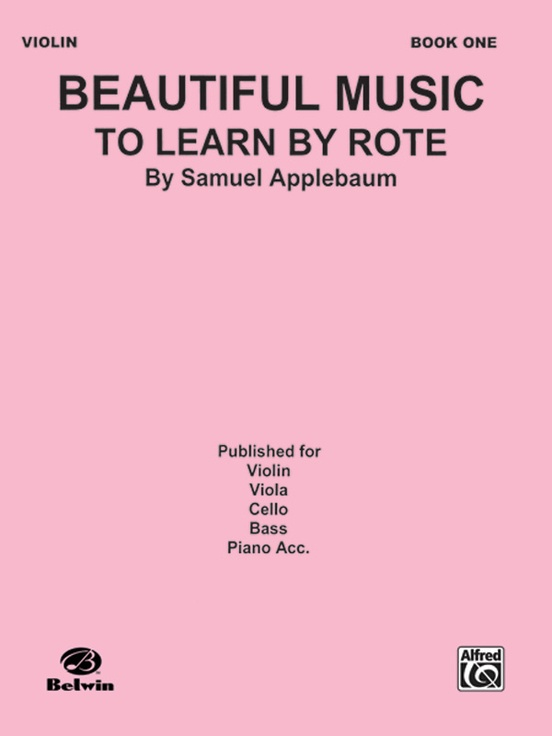 Beautiful Music to Learn by Rote, Book I