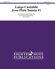 Largo Cantabile from Flute Sonata #1