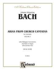 Arias from Church Cantatas, Volume III (6 Sacred)