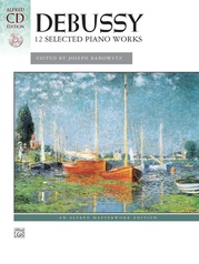 Debussy: 12 Selected Piano Works