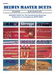 Belwin Master Duets (Flute), Advanced Volume 1