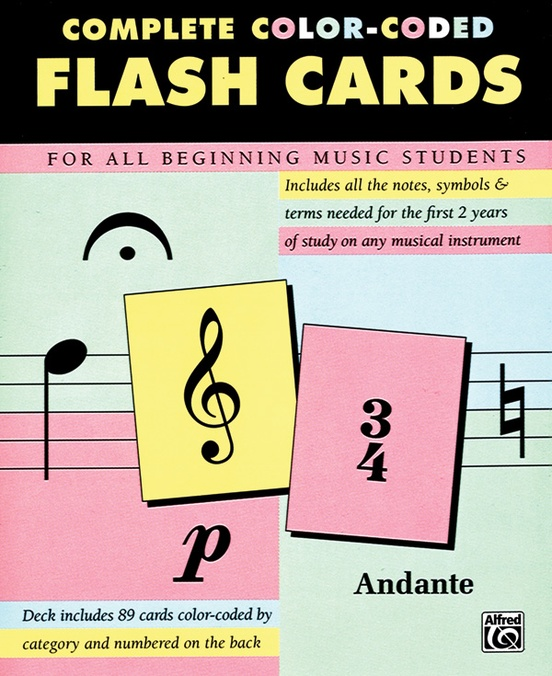 Complete Color-Coded Flash Cards