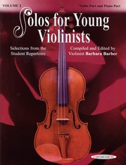 Solos for Young Violinists Violin Part and Piano Acc., Volume 2
