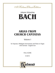 Soprano Arias from Church Cantatas, Volume I (Sacred)