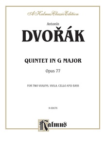 Quintet in G Major, Opus 77