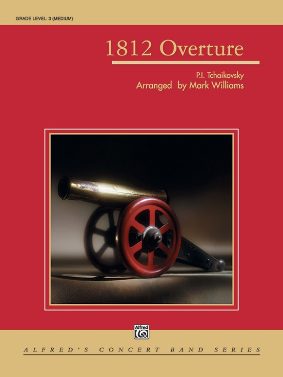 How To Top 1812 Overture How About >> 1812 Overture Concert Band Conductor Score Parts Peter Ilyich