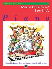 Alfred's Basic Piano Library: Merry Christmas! Book 1A
