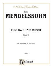 Trio in D Minor, Opus 49