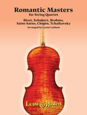 Romantic Masters for String Quartet