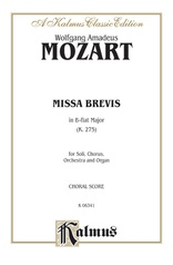 Missa Brevis in B-flat Major (K. 275)