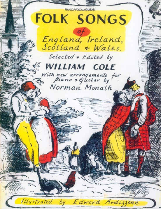 Folk Songs of England, Ireland, Scotland & Wales