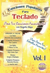 Canciones Populares Para Teclado Vol. 1