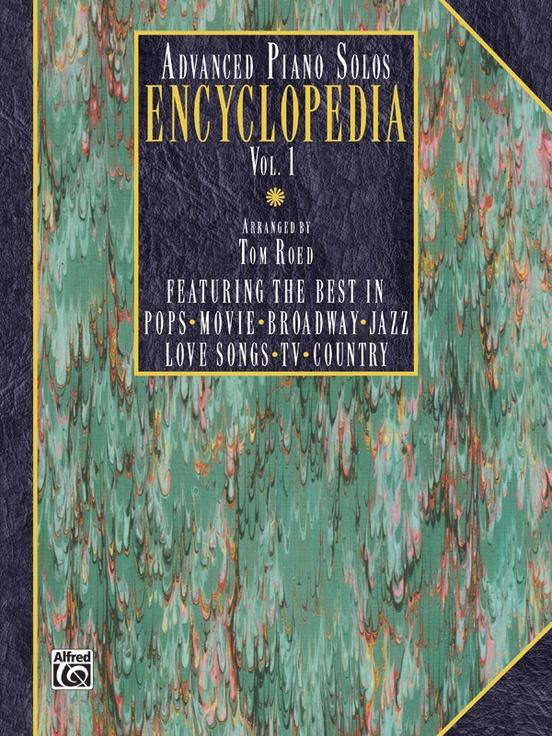 Advanced Piano Solos Encyclopedia Volume 1 Piano Book