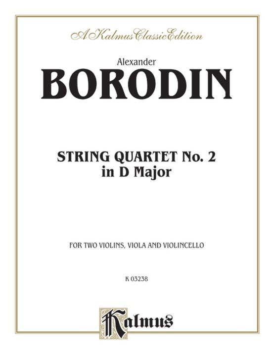 String Quartet No. 2 in D Major