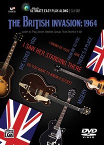 Ultimate Easy Guitar Play-Along: The British Invasion: 1964