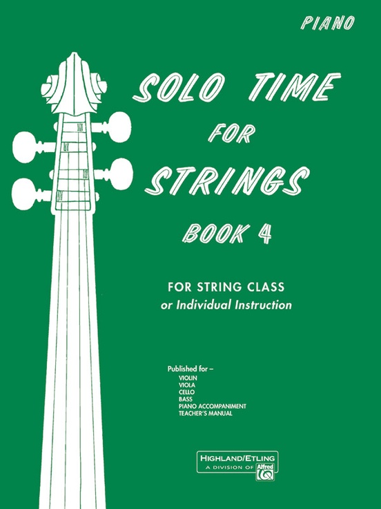 Solo Time for Strings, Book 4
