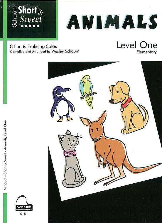 Short & Sweet Animals, Level 1