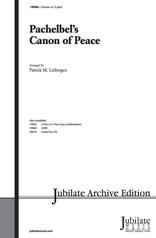 Pachelbel's Canon of Peace