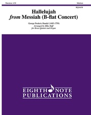 Hallelujah from Messiah (B-flat Concert)