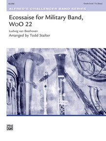 Ecossaise for Military Band, WoO 22