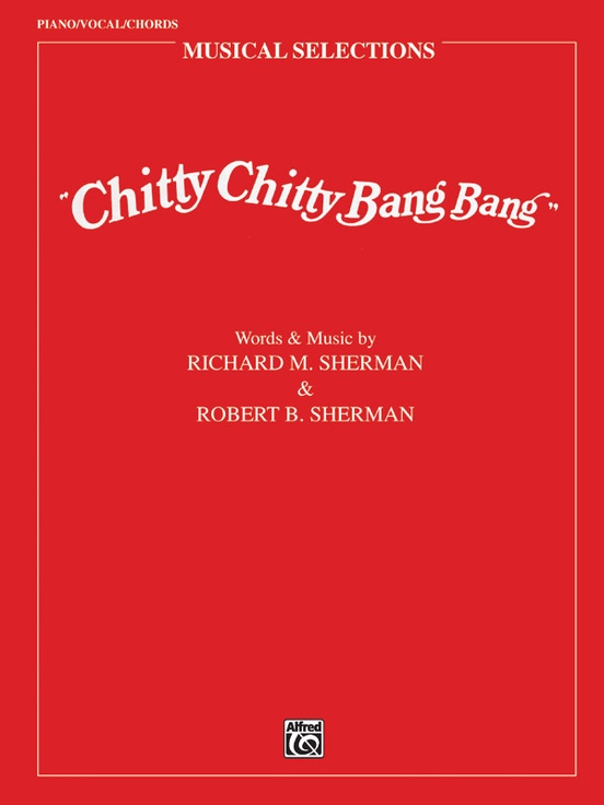Chitty Chitty Bang Bang Movie Selections Pianovocalchords Book
