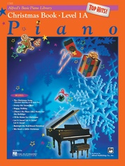 Alfred's Basic Piano Library: Top Hits! Christmas Book 1A