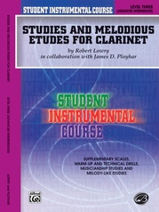 Student Instrumental Course: Studies and Melodious Etudes for Clarinet, Level III