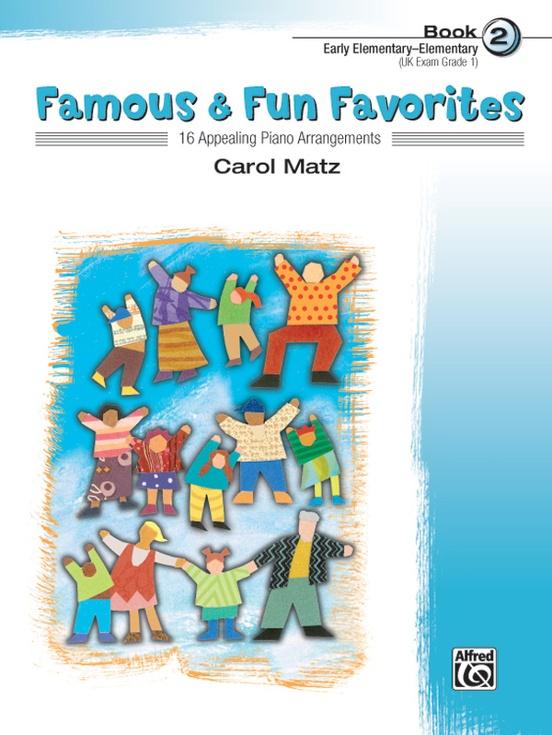 Famous & Fun Favorites, Book 2