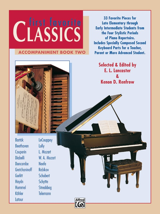First Favorite Classics: Accompaniment, Book 2