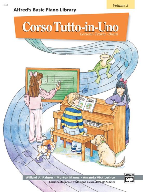 Alfred's Basic All-in-One Course Italian Edition, Book 3 [Corso Tutto-in-Uno]