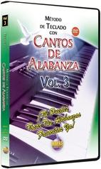 Método con Cantos de Alabanza: Teclado Vol. 3