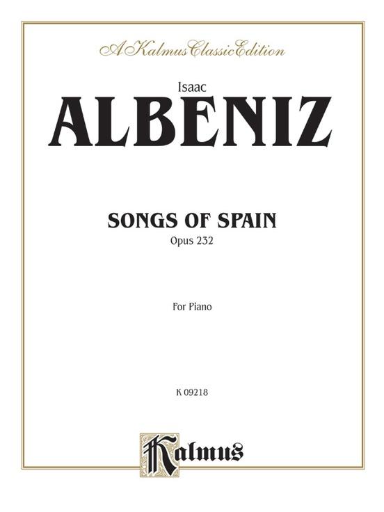 Songs of Spain, Opus 232