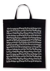 Tote Bag: Sheet Music (Black)
