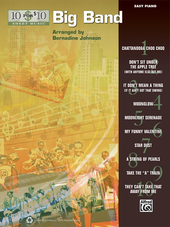 10 for 10 Sheet Music: Big Band