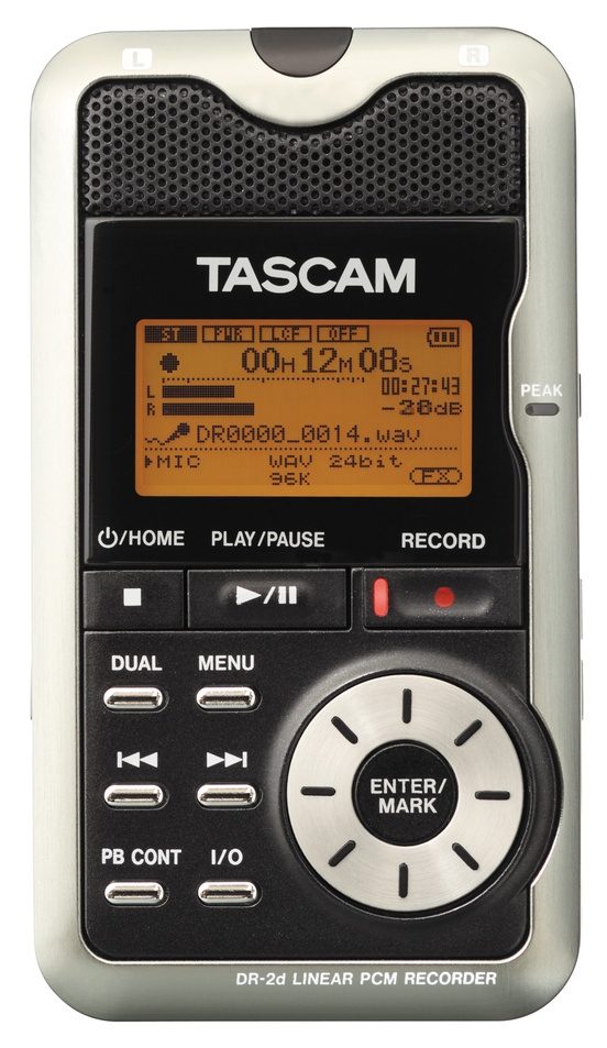 Tascam DR2d Portable Digital Recorder