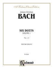 Six Duets, Volume I